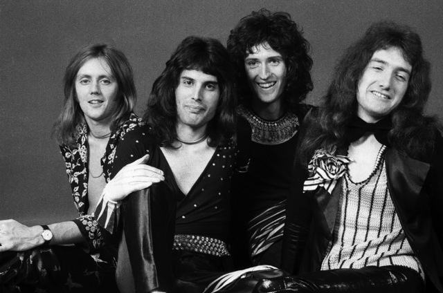 , 'Queen, Studio Shoot, London,' 1973, ElliottHalls