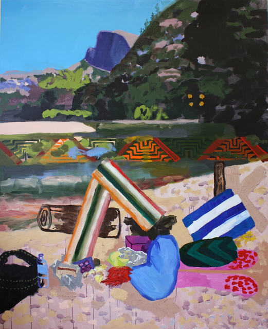 , 'Lunch Scene with Half Dome and Rough Log,' 2014, G. Gibson Gallery