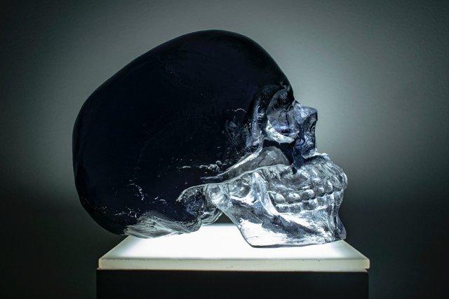 Sam Tufnell, 'Black Crystal Skull', 2019, Marcel Katz Art