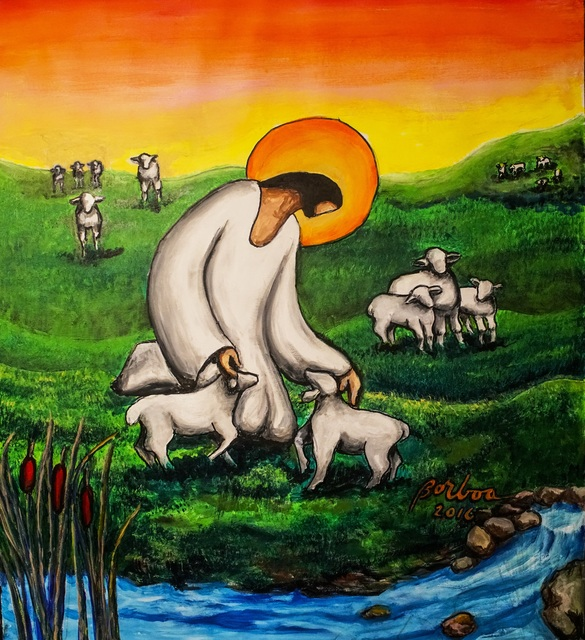 , 'Jesus the Good Shepherd 耶穌善牧,' , Artrue Gallery