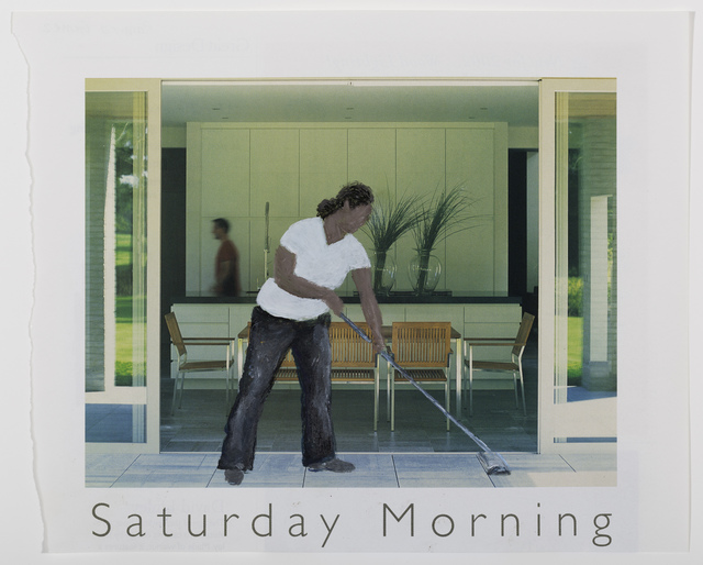 , 'Saturday Morning, Hollywood Hills,' 2013, Museum of Latin American Art, Long Beach