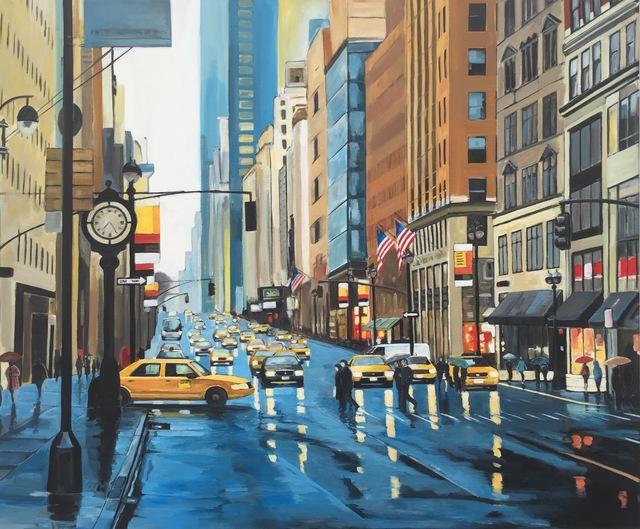 Angela Wakefield, 'New York Rain II', 2015, Ascot Studios