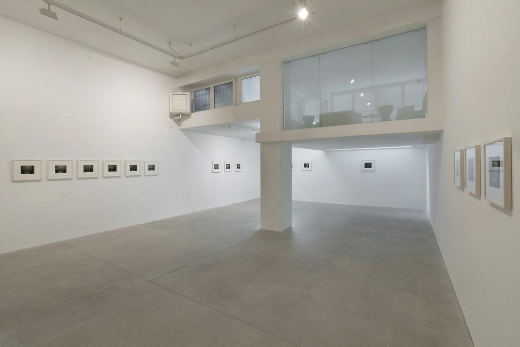 Installation view: Franco Vimercati's exhibition, 2016 via A. Stradella 7, Milano
