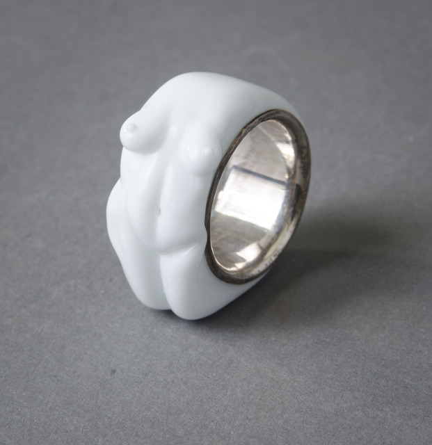 , 'Dutch White Nude Ring,' 20th/21st Century, Hieronymus