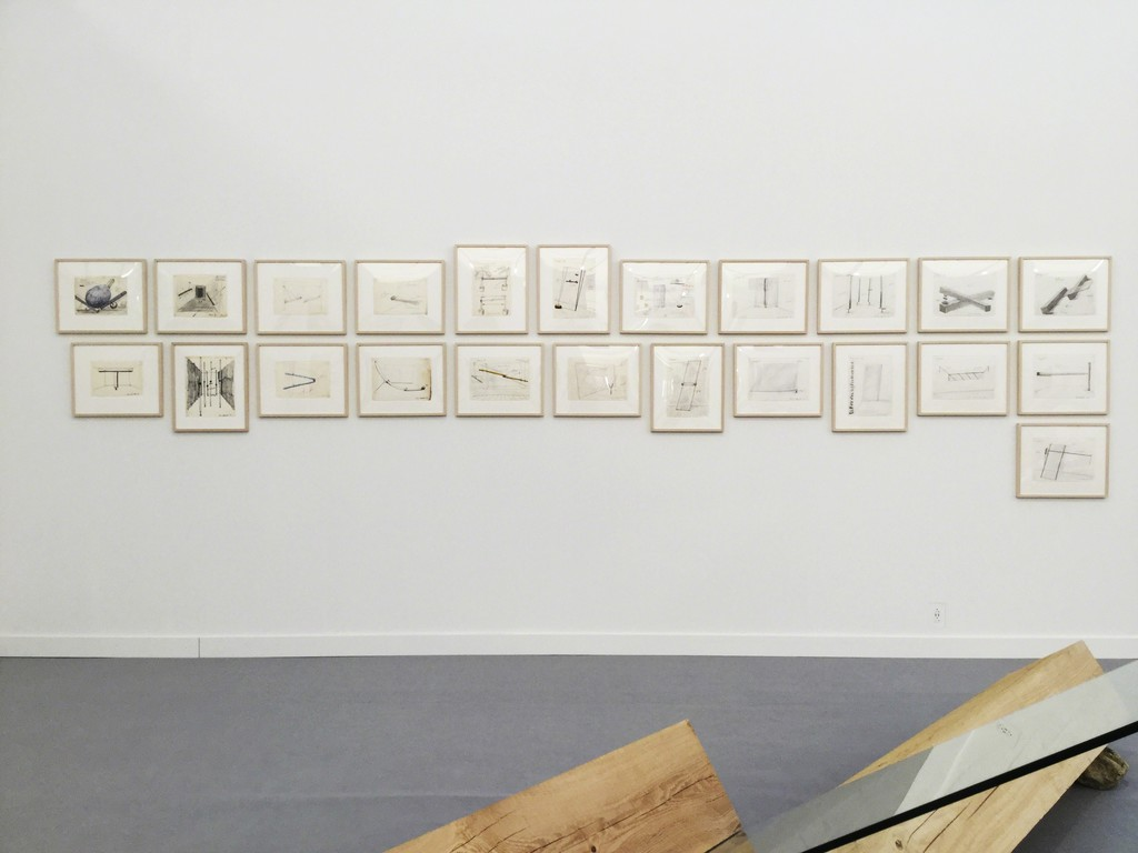 Stand SP31, Installation view of Frieze New York 2018