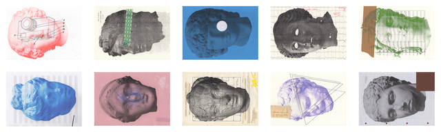 , 'Heads of... (polyptych),' 2014, 3+1 Arte Contemporânea