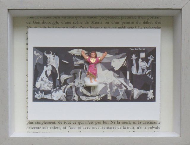 , 'Ex Votos Series, Picasso - Guernica,' 2018, Beatriz Esguerra Art