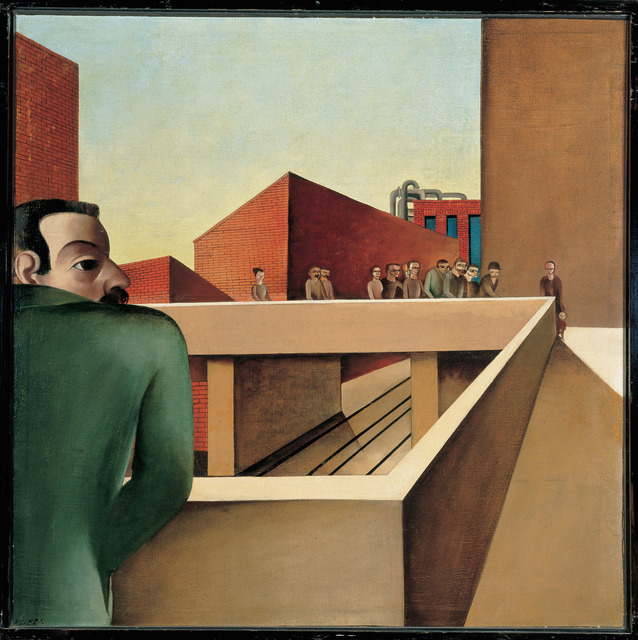 , 'Picture of Industry (Industriebild),' 1924, Los Angeles County Museum of Art