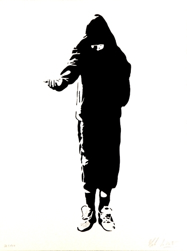 Blek le Rat, 'Beggar', 2006, Imitate Modern