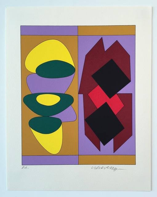 Victor Vasarely, 'Kris Bille, from Ion Album', 1989, Gregg Shienbaum Fine Art