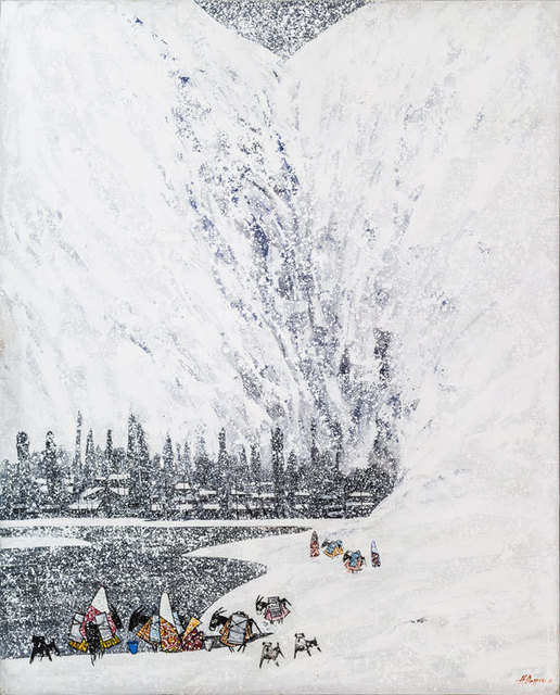 Farrukh Negmatzade, 'Winter in mountains', 2016, OYANU Gallery