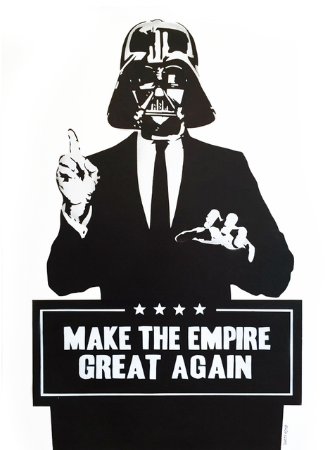 , 'Make The Empire Great Again,' 2016, Reem Gallery