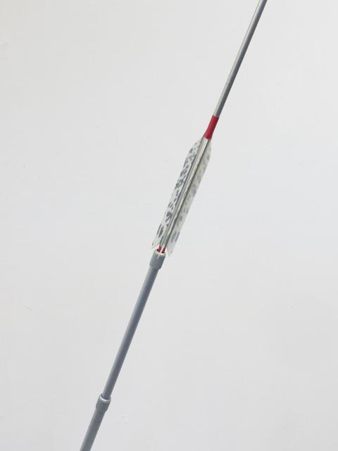 Pavel Büchler, 'Scout', 2016, Sculpture, Camera tripod and archery arrow. Unique work., Johan Deumens Gallery