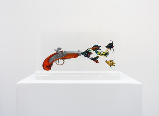 , 'Flower Gun,' 2016, Art+Culture Projects