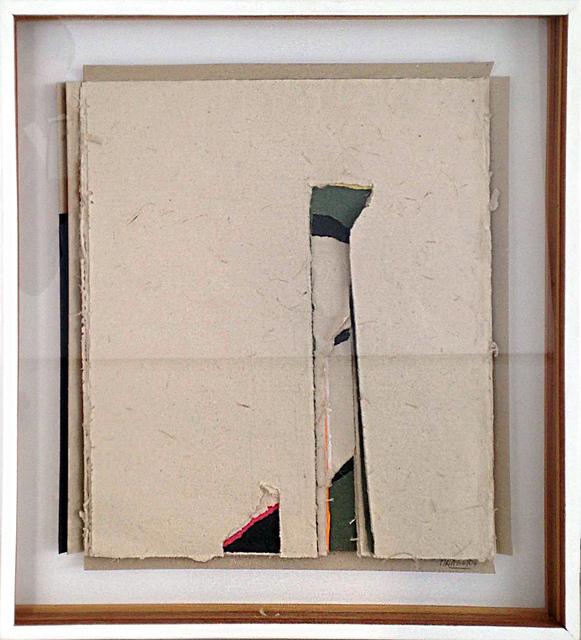 , 'Vertical casi paisaje,' 2004, Galería del Paseo