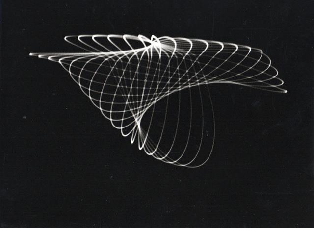 , 'Untitled (Analog graphics, Oscillograms),' ca. 1950, SCHEUBLEIN + BAK