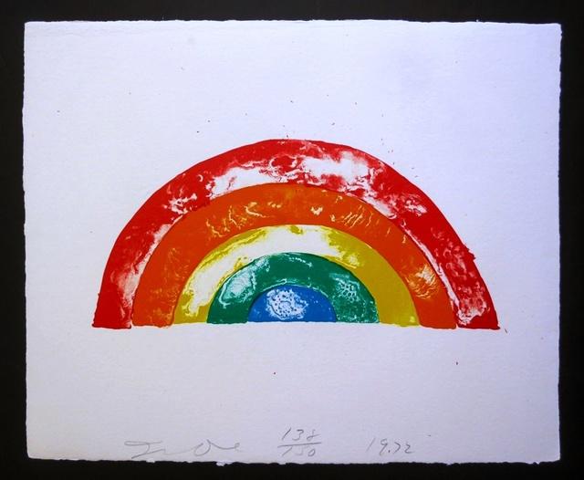 Jim Dine, 'Rainbow', 1972, Alpha 137 Gallery