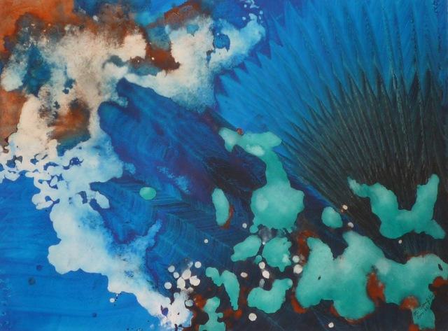 , 'Turquoise Floating Series #65,' 2000, ACA Galleries