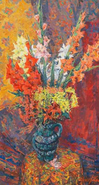 , 'Summer Flowers,' 1996, Catto Gallery