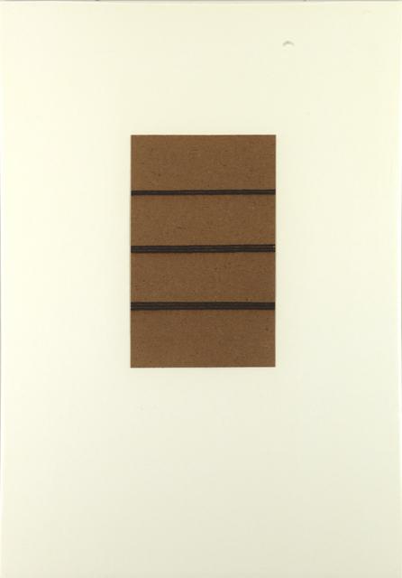 , 'Eight Lines, Twenty Minutes ,' 1980, Annely Juda Fine Art