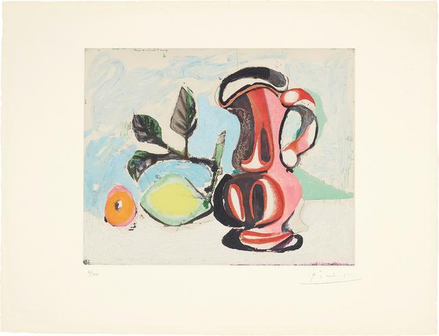Pablo Picasso, 'Nature morte au citron et pichet rouge (Still Life with Lemon and Red Pitcher)', 1964, Phillips