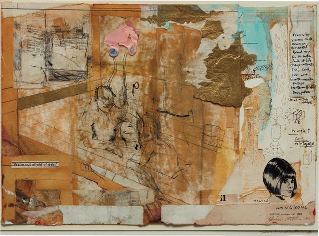 Shinro Ohtake, 'Hong Kong', 1980, Phillips
