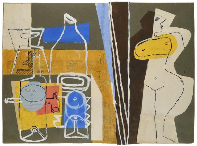 , 'Madame, la table est dressée,' 1961, Galerie Zlotowski