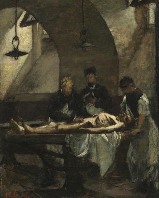 "Henri Gervex, 'Study for ""Autopsy at the Hôtel-Dieu""', 1876, National Gallery of Art, Washington, D.C."