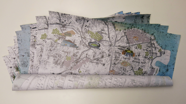 , 'Lambe Lambe Indoor Rio de Janeiro Map,' 2013, AMMA Store