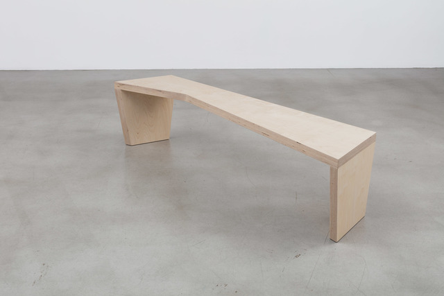 , 'Bench (Open Angle),' 2016, Galerie Nordenhake