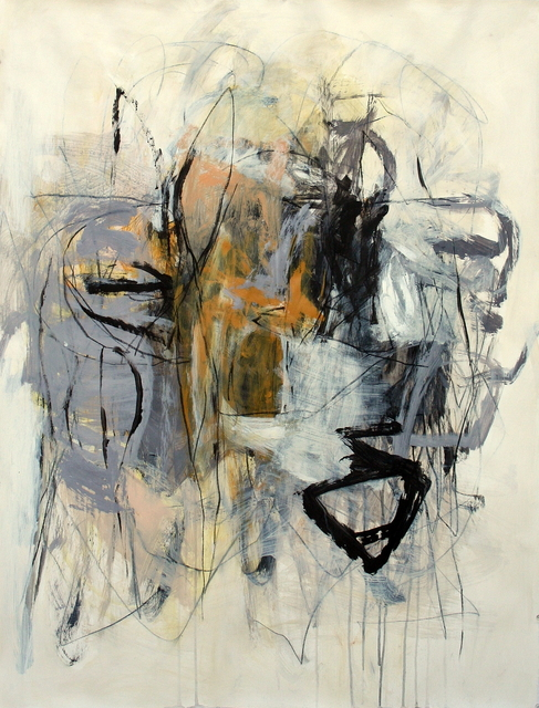 , 'Gray Landscape with Ochre,' , Calvin Charles Gallery