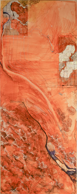 , 'Map (Desert),' 2010-2012, Shoestring Press