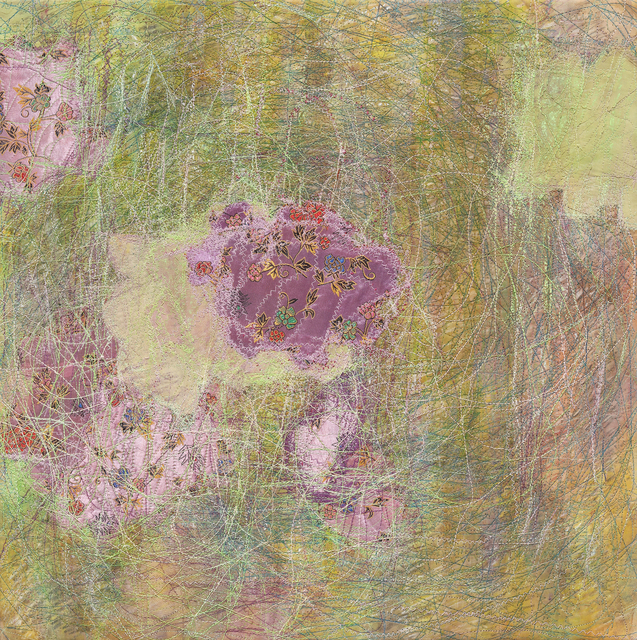 Shin Kyoung Ro, 'Inbetween 0511 ', 2018, Painting, Sewing on Korean paper, Artflow