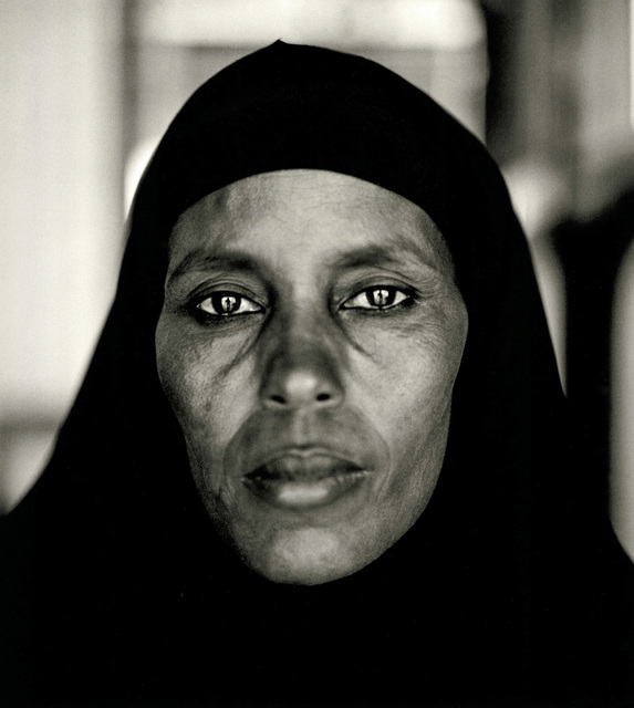 , 'Abshiro Aden Mohammed, Women's Leader, Somali Refugee Camp, Dagahaley, Kenya, 2000, from the series A Camel for the Son. ,' 2000, Denver Art Museum