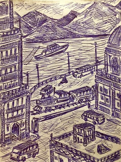 Damian Valdes Dilla, 'Cityscape No. 6', ca. 2017, Thomas Nickles Project