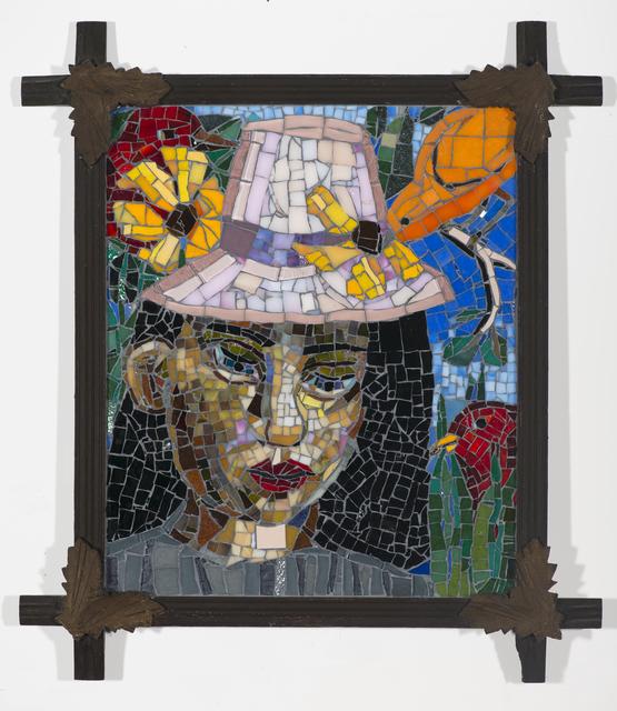 Mary Josephson, 'A Silent Language', 2015, Mixed Media, Glass mosaic on wood, framed, Friesen Gallery