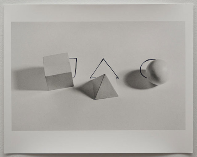 , 'Geometric Shepes With Drawings,' 1973, Espacio Mínimo