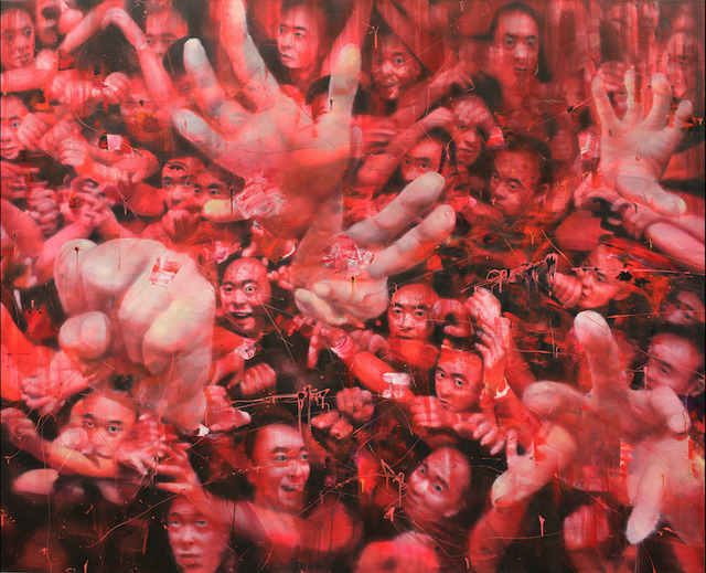 Li Tianbing, 'Red Accumulation', 2019, JD Malat Gallery