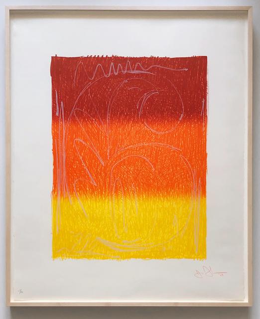 Jasper Johns, 'Figure 6, from Color Numeral Series (ULAE 65; Gemini 122)', 1969, Joseph K. Levene Fine Art, Ltd.