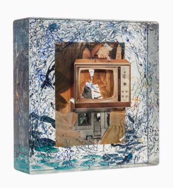 Dustin Yellin, 'Static White Couple', 2014, The Sunfair Gallery