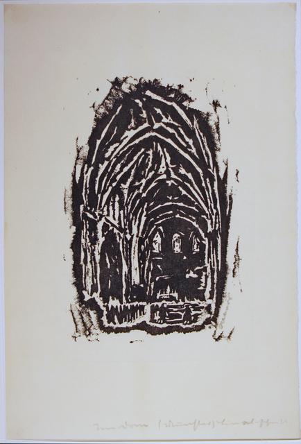 , 'Im Dom zu Münster,' 1916, Galerie Ostendorff