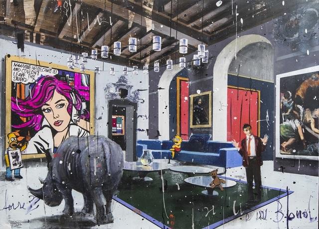 Angelo Accardi, 'You Like My Rhino?', 2019, Eden Fine Art