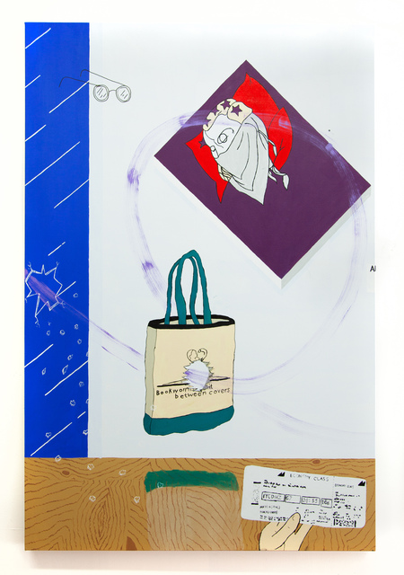 , 'Carry On (Jet Lag Tote Bag),' 2017, Miranda Kuo Gallery