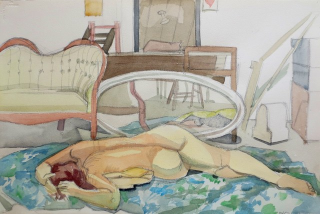 , 'Reclining Figure with Furniture,' 1971, Gallery Neptune & Brown