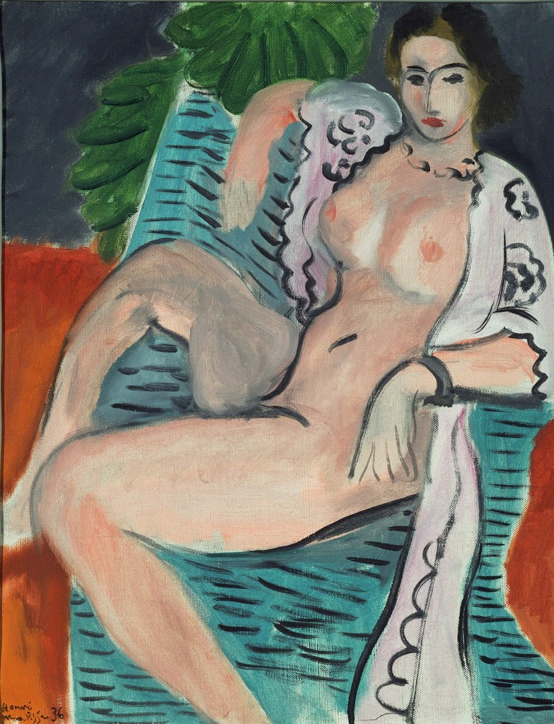 "Henri MATISSE ""Draped nude (Femme nue drapée)"", 1936, 