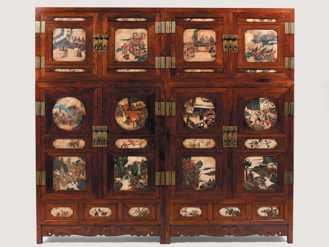 , 'Pair of Huanghuali Wardrobes,' 17th Century with 19th Century Alterations, Liang Yi Museum