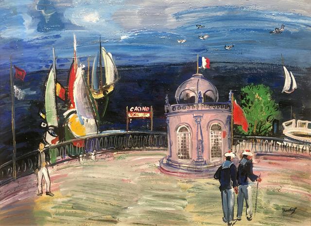 Carlos Nadal, 'Balcón sobre el mar', ca. 1985, Galeria Jordi Pascual
