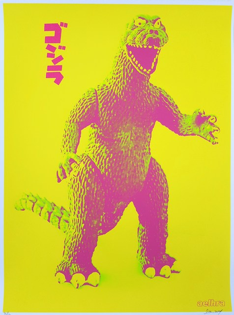 Aelhra, 'Gojira Godzilla', 2014, Graves International Art