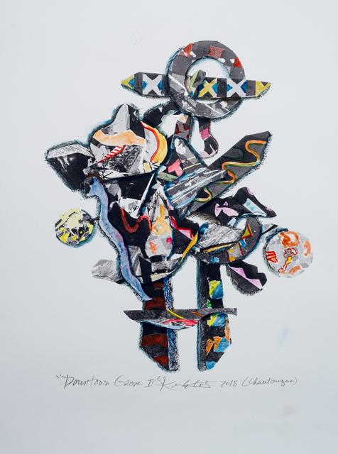, 'Downtown Grove I,' 2018, Marta Hewett Gallery