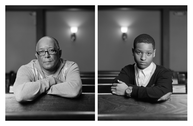 Dawoud Bey, 'The Birmingham Project: Wallace Simmons and Eric Allums', 2012, Rena Bransten Gallery